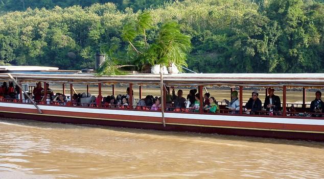 Slow Boat Huay Xai to Luang Prabang
