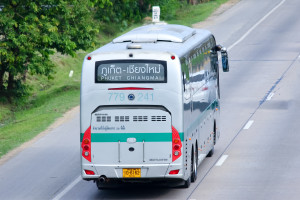 The Chiang Mai to Phuket bus by Green Bus Thailand