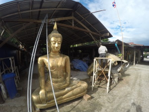 The Chinnarit Buddha Foundry Phitsanulok