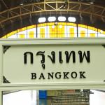 Train timetables from Chiang Mai to Bangkok