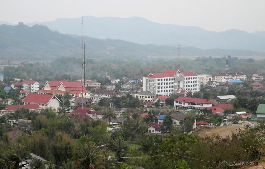 Downtown Luang Namtha