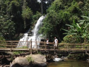 Pa Dok Siew Waterfall - found along the Mae Klang Luang Trail