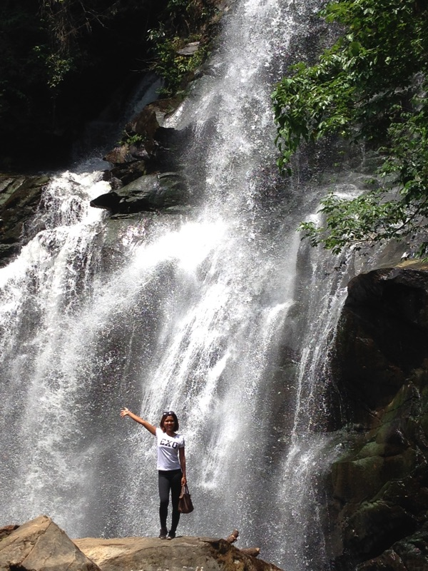 The Pa Dok Siew Waterfall