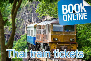 Thailand Online Train Ticket Booking