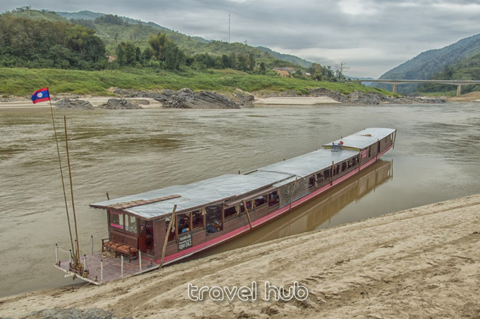 Cruise boat from Chiang Kong to Luang Prabang