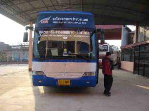 Udon Thani to Vang Vieng Bus